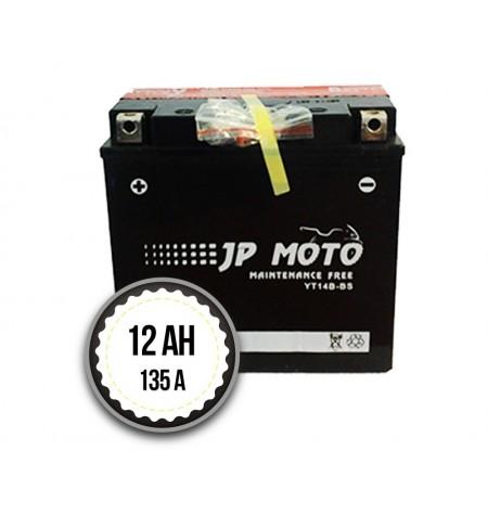 JP MOTO YT14B-BS 12Ah 135A 12V L+