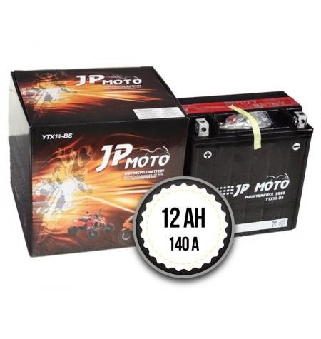 JP MOTO YTZ14-BS 12Ah 140A 12V L+