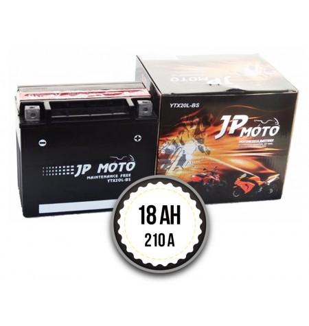 JP MOTO YTX20L-BS 18Ah 210A 12V R+