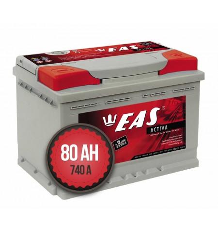 EAS Activa +2Ah EXTRA 80Ah 740a