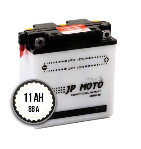 JP Moto 6N11A-3A 11AH 88A 6V R+