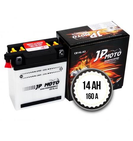JP MOTO CB14L-A2 14AH 160A 12V R+