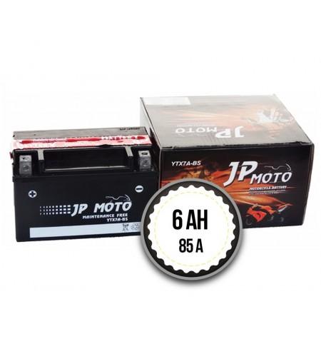 JP MOTO YTX7A-BS 6Ah 85A 12V L+