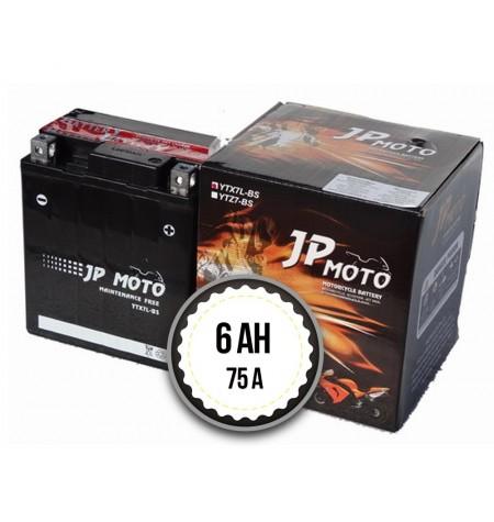 JP MOTO YTX7L-BS 6Ah 75A 12V R+