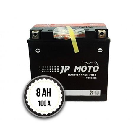 JP MOTO YT9B-BS 8Ah 100A 12V L+